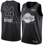 Los Angeles Lakers Kobe Bryant 24# Svart 2018 All Star Game NBA Basketlinne..